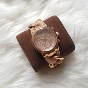 Rose Gold Michael Kors Bracelet Watch!